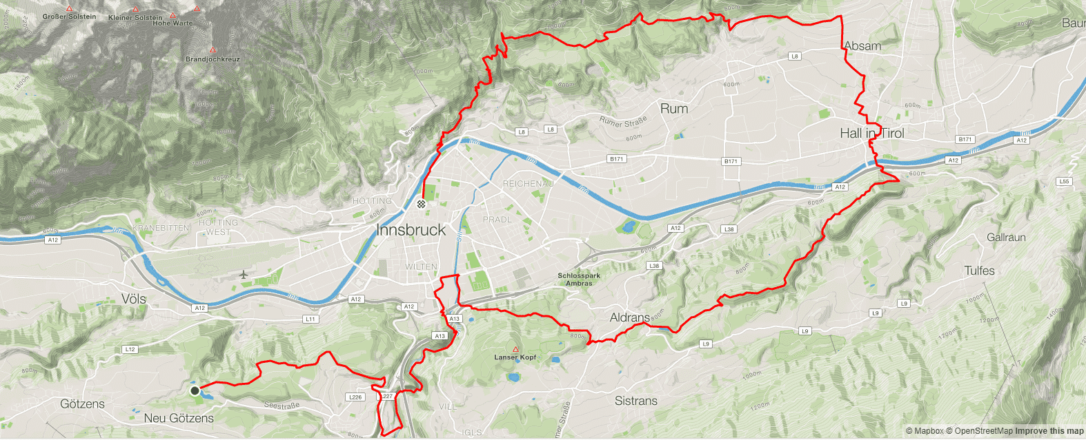 Innsbruck Alpine 2019 K42 Marathon Route Strava
