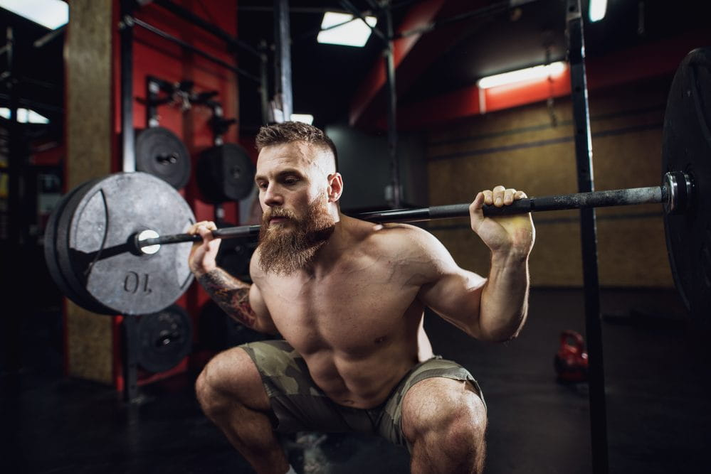 how to build muscle squat