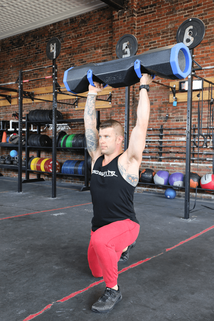 overhead lunge