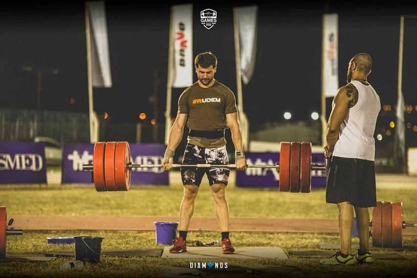 Diego Kemper Paraguay CrossFit National Champion