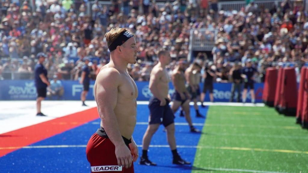 CrossFit Games 2019 Sprint men 550-yard