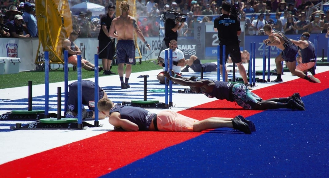 CrossFit Games 2019 sprint couplet