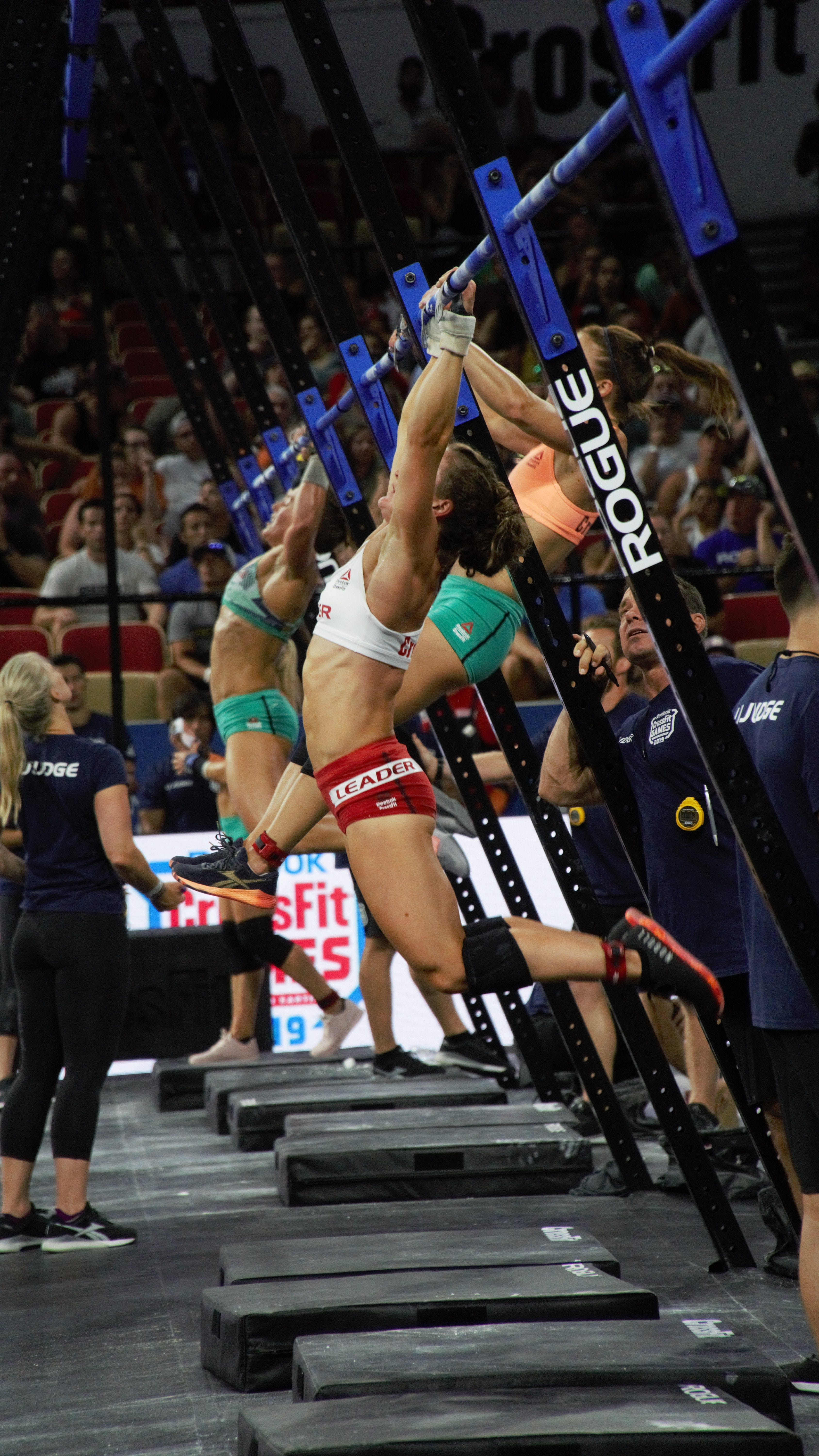 Tia Toomey pull-ups crossfit games 2019