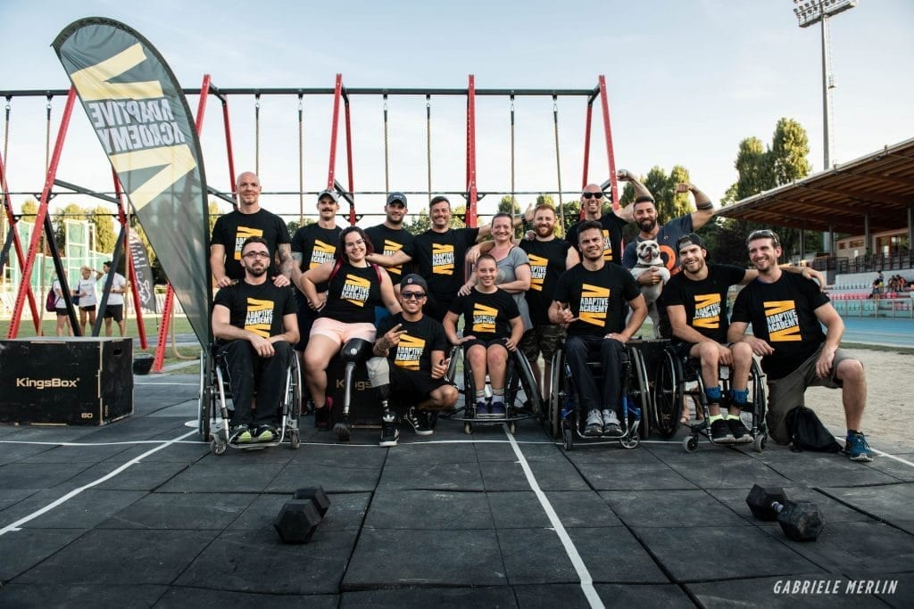 Adaptive Athletes Crush the Torino Challenge Fitness Competition in Italy