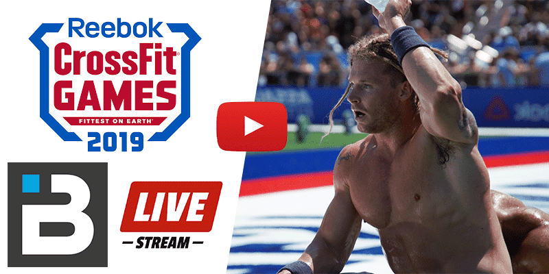 Livestream: Watch The Final Day of The 2019 CrossFit Games