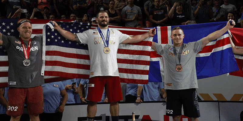 Image result for crossfit games 2019 podium