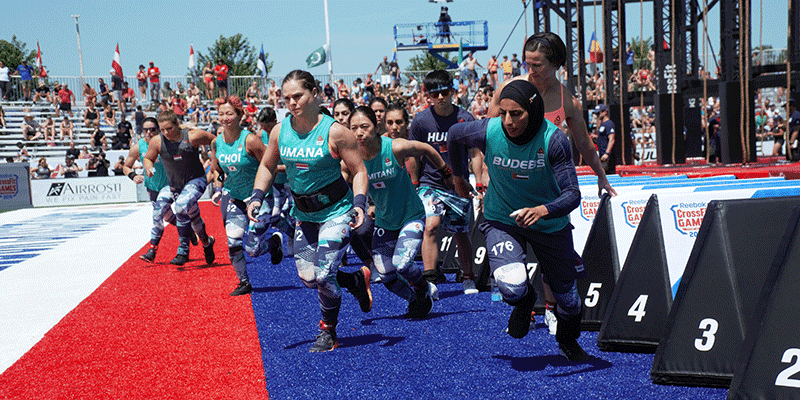 Day 1 of The CrossFit Games Told in 20 Photos