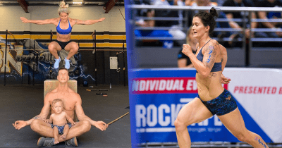 CrossFit mum, box owner and Games athlete