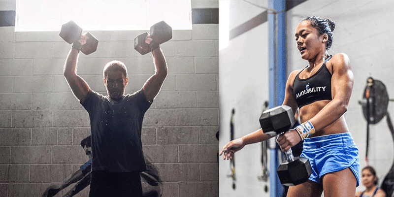 CrossFit-Dumbbell-exercises