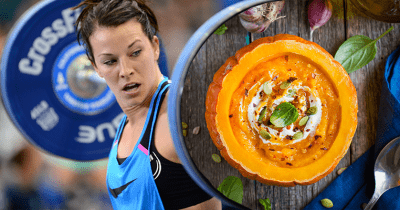CrossFit nutrition for evening training