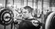 CrossFit Athlete Clean exercise