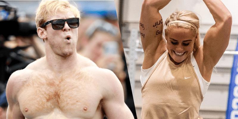 Vellner and Sigmundsdottir 2020 crossfit open winners