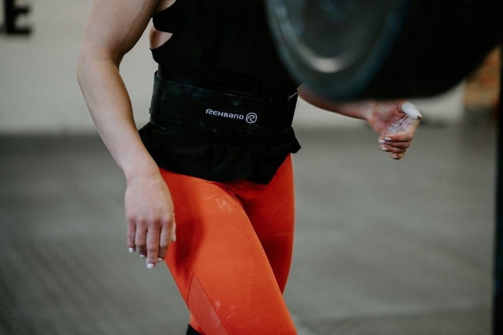 Rehband weightlifting belt