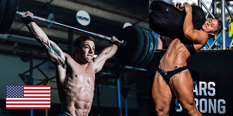 20 Top Action Shots of Inspirational USA CrossFit Athletes