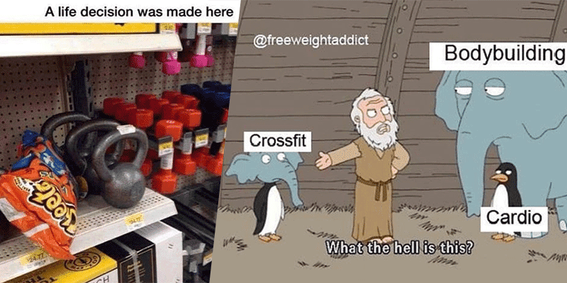 The Life of a CrossFitter in 25 Memes