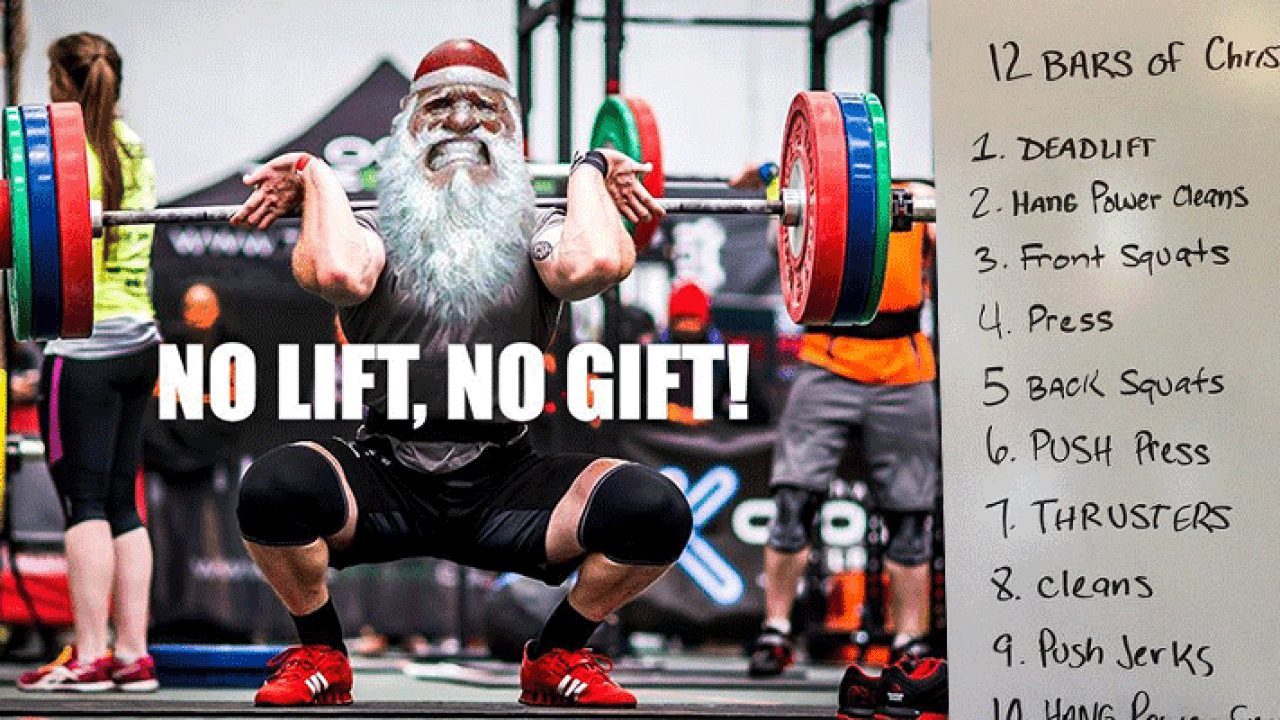 5 Fun And Festive Christmas Crossfit Workouts Boxrox