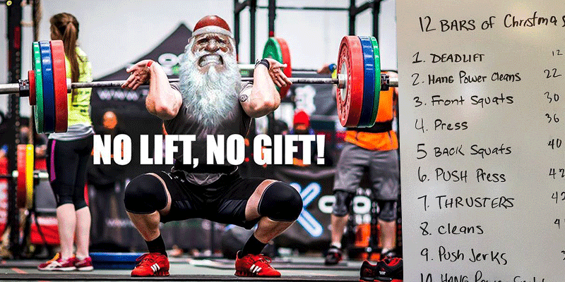 5 Fun and Festive Christmas CrossFit Workouts