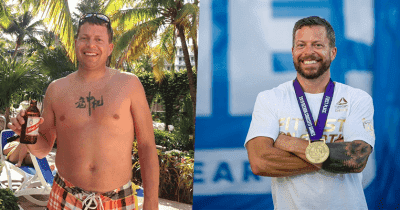 From fat to fit with CrossFit