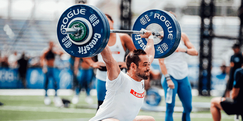 Rich Froning CrossFit Workouts to Build Conditioning and Strength