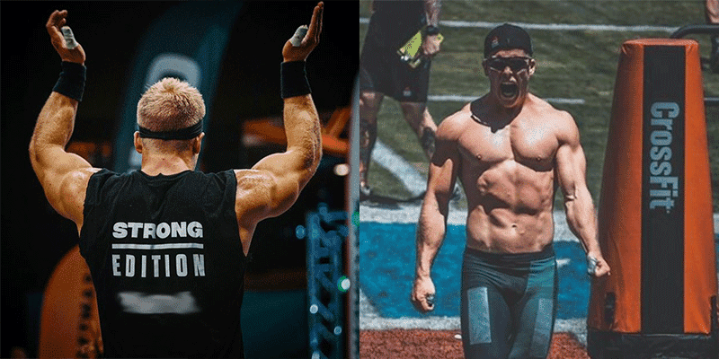 """Half Blind CrossFit Games Athlete Explains his """"Why"""" to his 10 Year Old Self"""