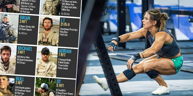 Lesser Known CrossFit Hero Workouts to Honour Fallen Soldiers