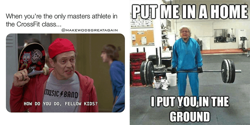 Hilarious Memes for CrossFit Masters Athletes