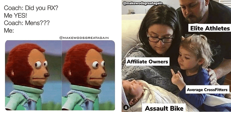 The Funniest Memes for CrossFit Athletes and Fitness Lovers