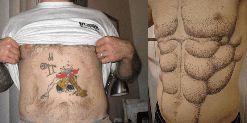 11 of the Worst Gym and CrossFit Tattoo Fails Ever
