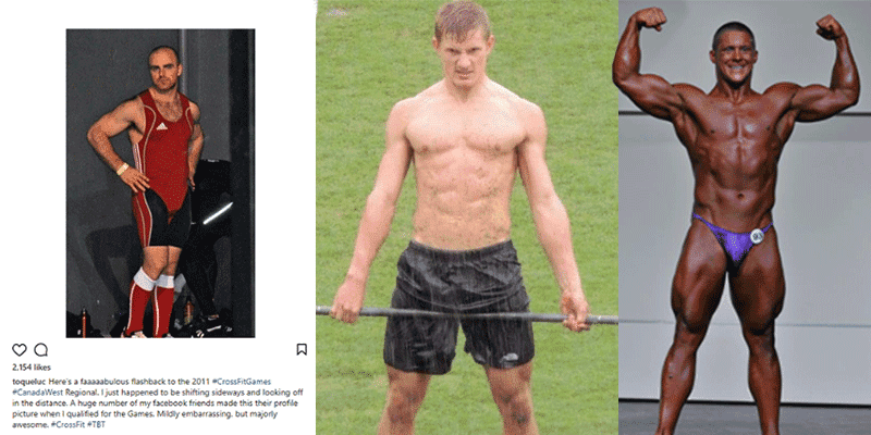 Amazing Body Transformations of 10 Top Male Canadian and USA CrossFit Games Athletes