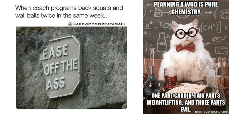 Medicine for the Mind – Hilarious Memes About CrossFit Coaches