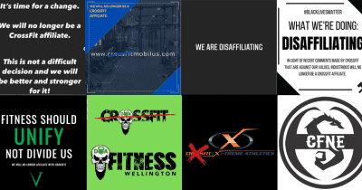 crossfit boxes disaffiliate