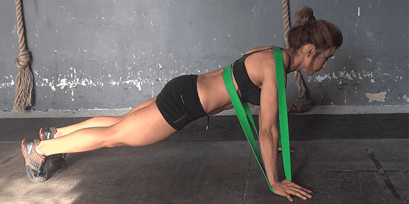 Strength Building Banded Exercises for CrossFit Athletes