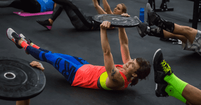crossfit gymnastics hollow hold
