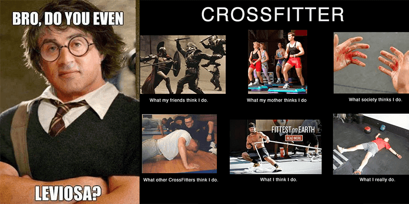 The Life of a CrossFitter Told in 25 Memes