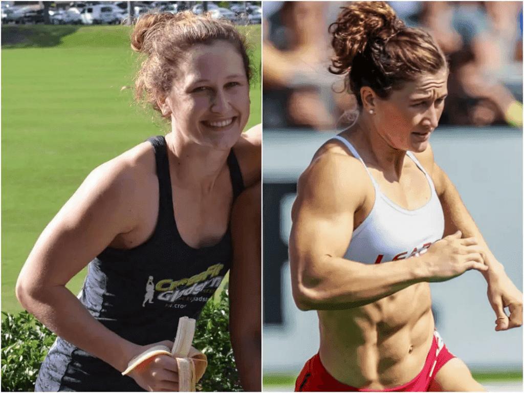 Tia Clair Toomey Before CrossFit