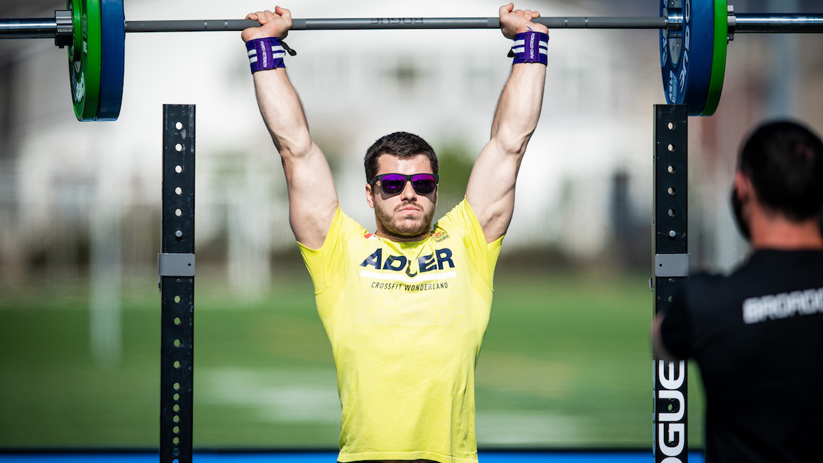 mobilise your shoulders for overhead strict press