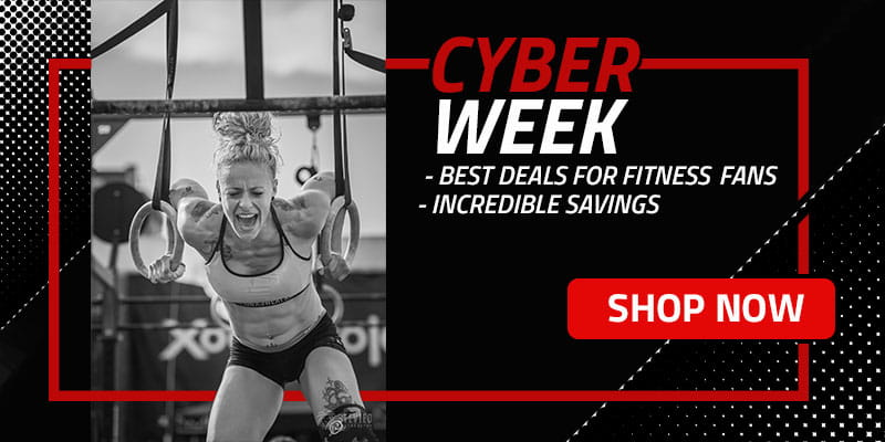 CYBER WEEK- Shop the BEST Deals and Biggest Savings for Fitness Fanatics