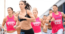 crossfit workouts with running