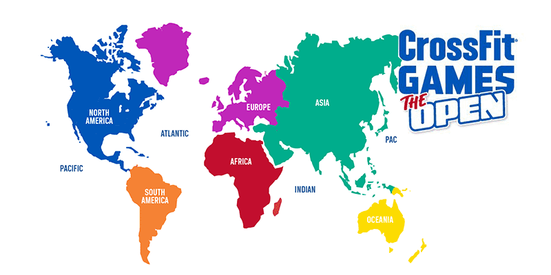 crossfit competitive continents and quarterfinals