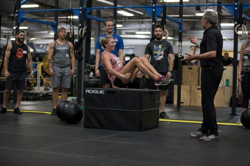 Scale CrossFit Open Workout 21.1