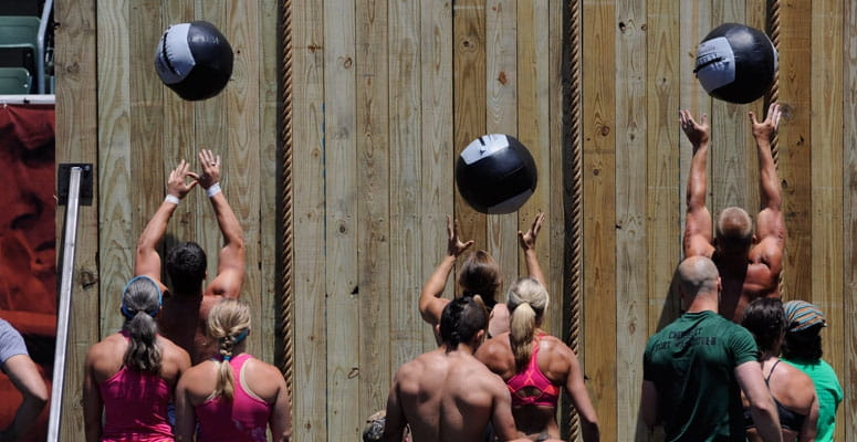 wall ball crossfit workout