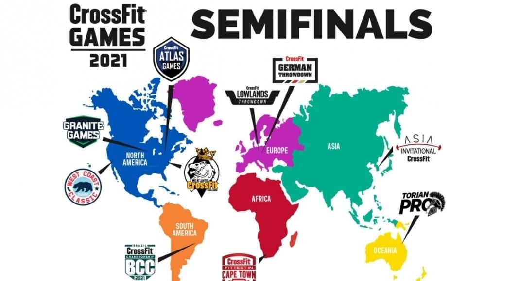 CrossFit Semifinal Events 2021
