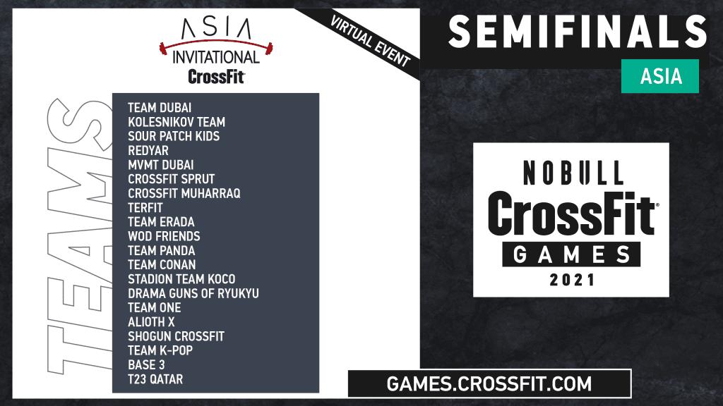 Team Semifinals Asia Invitational