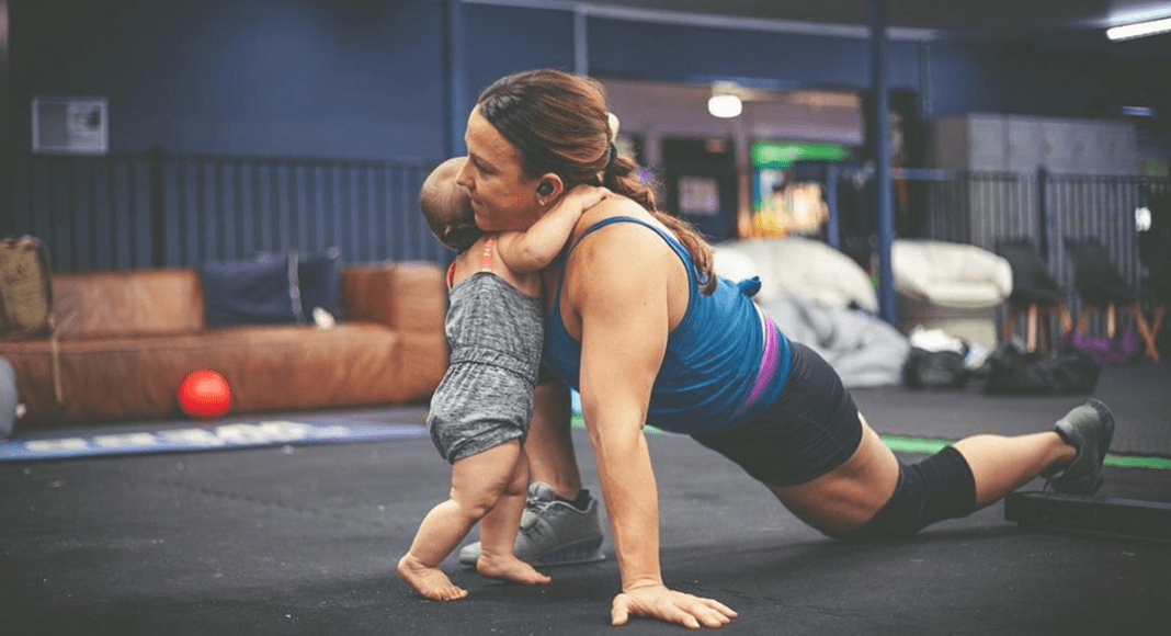 crossfit mothers day