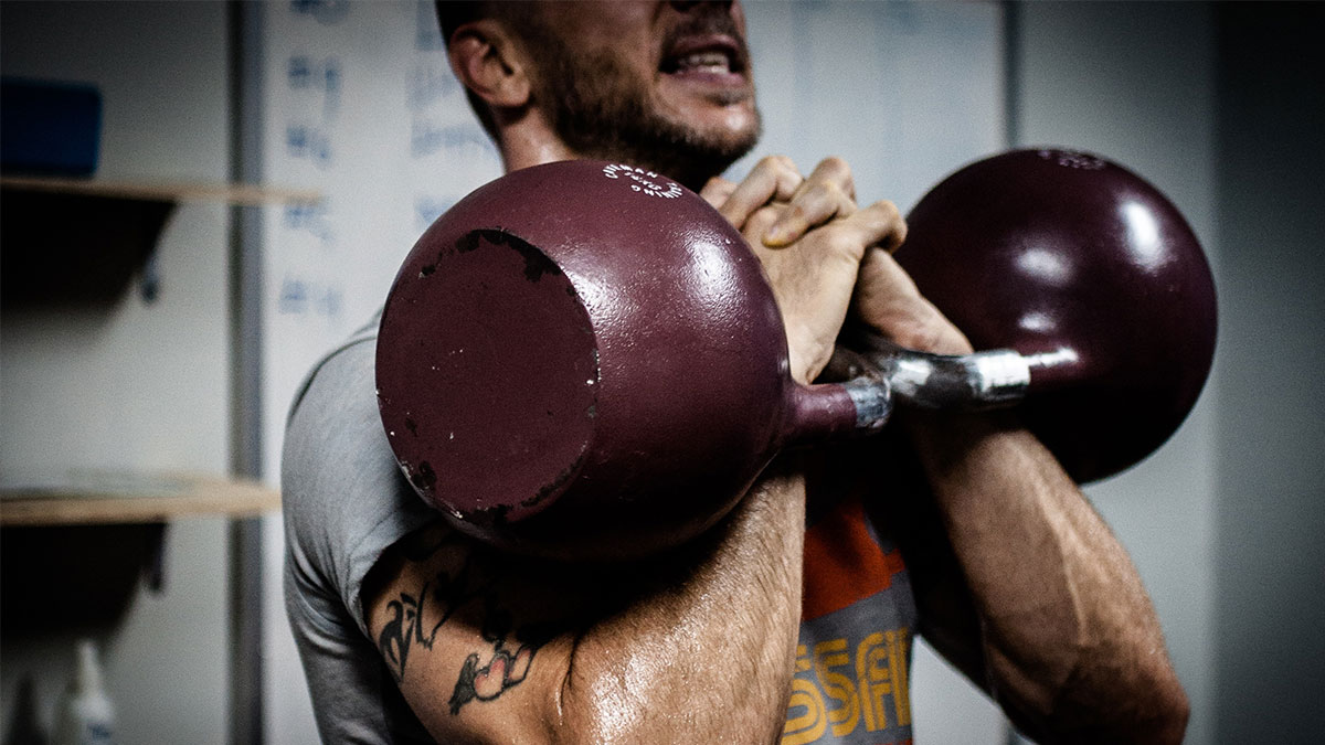 kettlebell workout for crossfit athletes