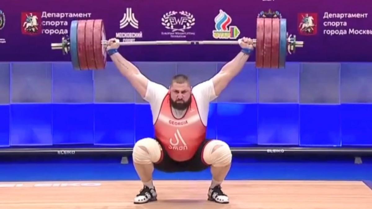 Lasha Talakhadze snatch