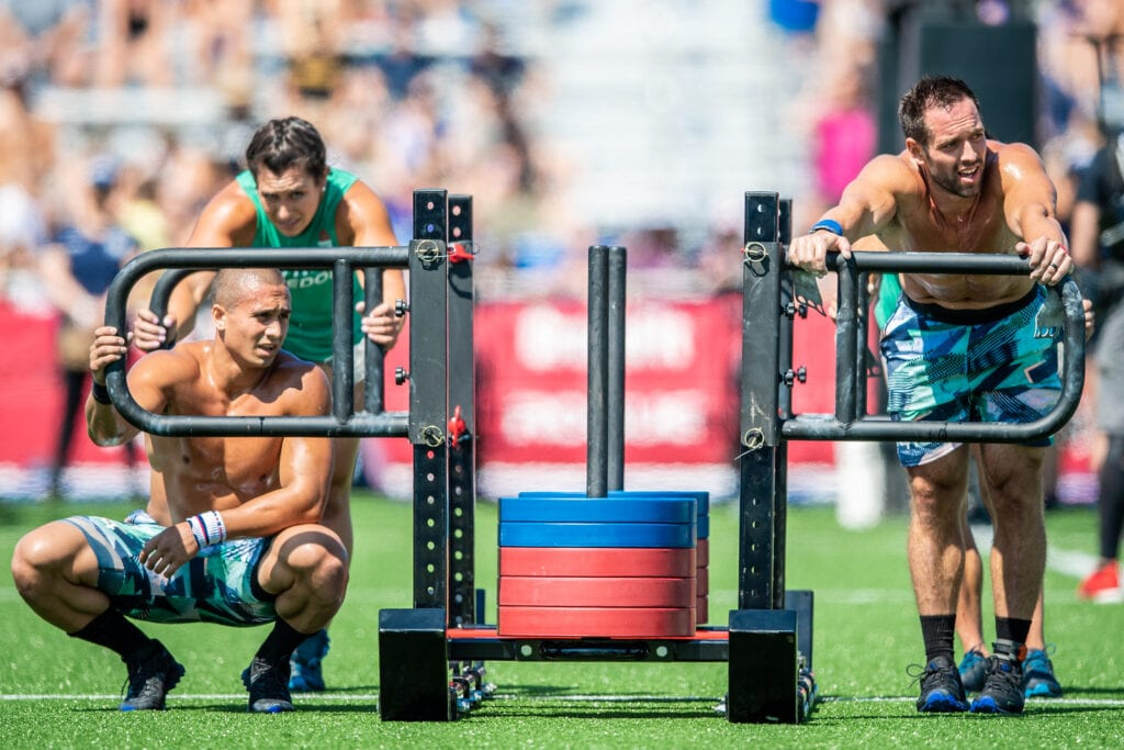 CrossFit Games team events will include the big Bob push