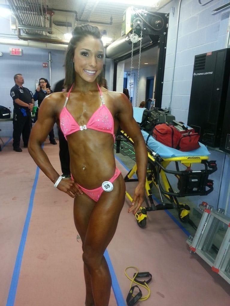 Bethany Shadburne Bodybuilding Competition