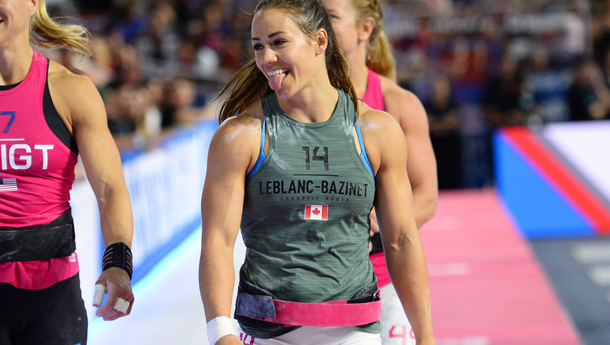 home workouts from Camille Leblanc Bazinet