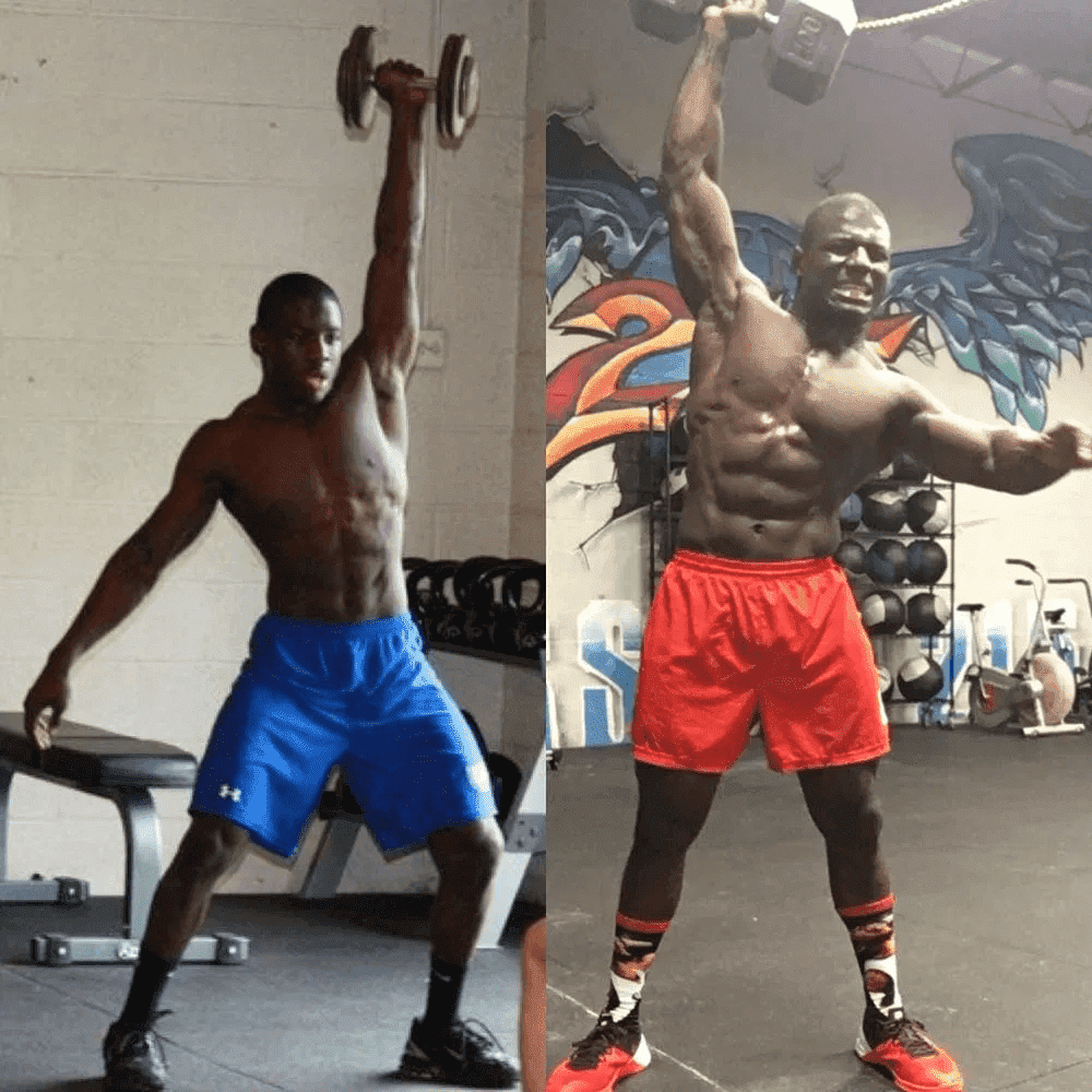 Chandler Smith Transformations of 2021 CrossFit Games Athletes